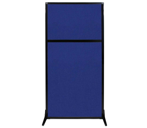 "Work Station Screen 33"" x 70"" Royal Blue Fabric"