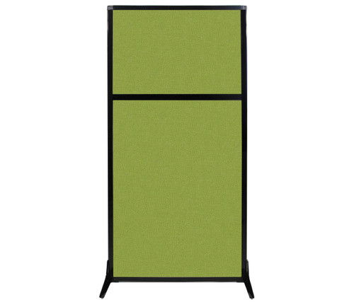 "Work Station Screen 33"" x 70"" Lime Green Fabric"