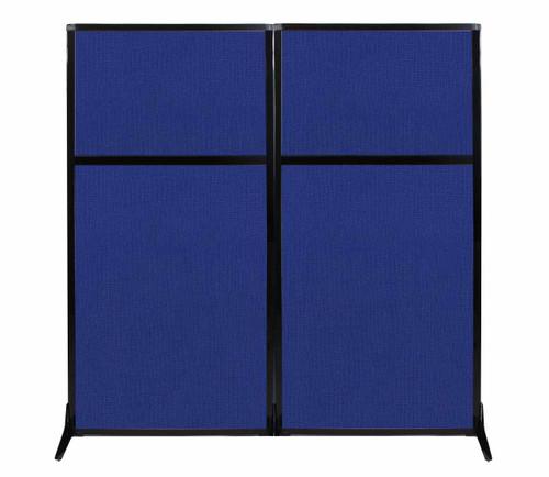 "Work Station Screen 66"" x 70"" Royal Blue Fabric"