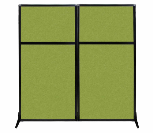 """Work Station Screen 66"""" x 70"""" Lime Green Fabric"""