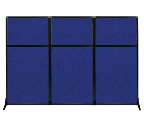 "Work Station Screen 99"" x 70"" Royal Blue Fabric"