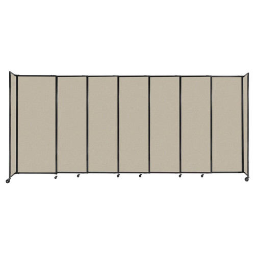 """The Bullet Resistant Portable Shield Partition 15'6"""" x 6'10"""" Sand Fabric"""