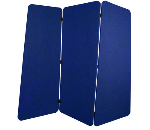 SoundSorb VersiPanel 6' x 5' Blue High Density Polyester