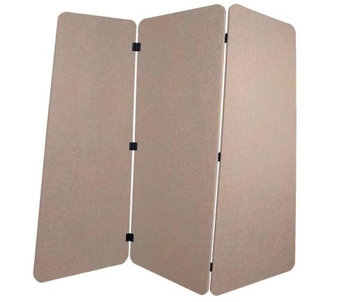 SoundSorb VersiPanel 6' x 5' Beige High Density Polyester