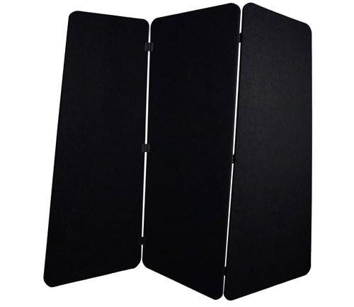SoundSorb VersiPanel 6' x 5' Black High Density Polyester