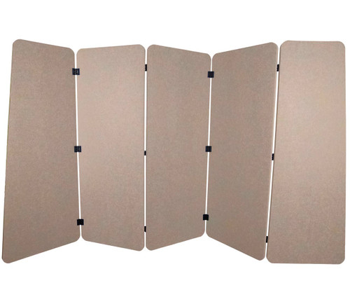 SoundSorb VersiPanel 10' x 5' Beige High Density Polyester