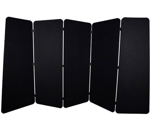 SoundSorb VersiPanel 10' x 5' Black High Density Polyester