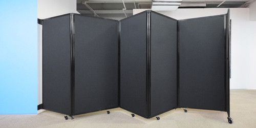 Room Divider 360 Wall-Mounted Accordion Partition
