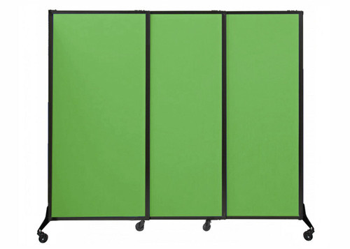 The QuickWall Sliding Portable Partition.