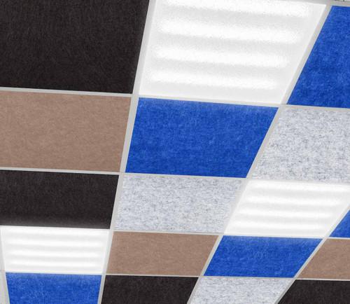 """SoundSorb Acoustic Ceiling Tiles 24"""" x 24"""""""