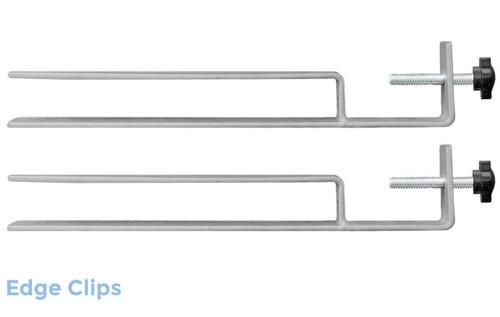 Dekstop Privacy Panel Mounts (Set of 2) (Set of 2)Edge Clip