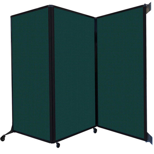 The Wall-Mounted Quick-Wall (Folding) Partition.