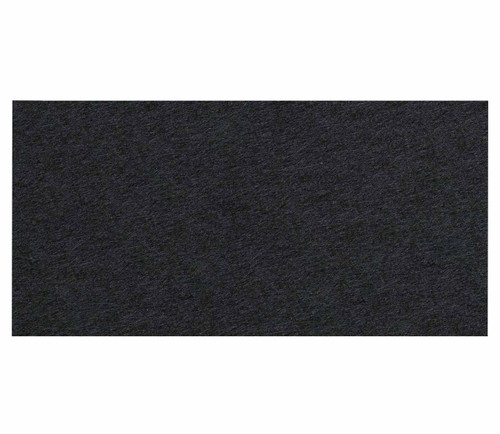 "Wall-Mounted SoundSorb Acoustic Panels 24"" x 12"" Rectangle Black High Density Polyester"