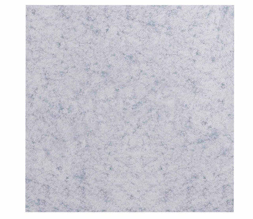 """Wall-Mounted SoundSorb Acoustic Panels 24"""" x 24"""" Marble Gray High Density Polyester"""