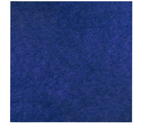 """Wall-Mounted SoundSorb Acoustic Panels 24"""" x 24"""" Blue High Density Polyester"""