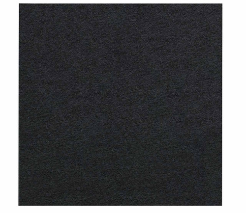 """Wall-Mounted SoundSorb Acoustic Panels 24"""" x 24"""" Black High Density Polyester"""