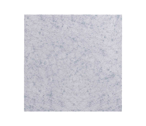 "SoundSorb Acoustic Ceiling Tiles 24"" x 24"" Marble Gray High Density Polyester"