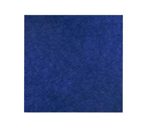 "SoundSorb Acoustic Ceiling Tiles 24"" x 24"" Blue High Density Polyester"