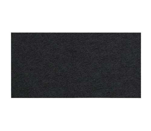 "SoundSorb Acoustic Ceiling Tiles 48"" x 24"" Black High Density Polyester"