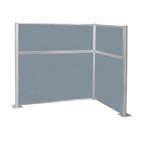 Hush Panel Kit (L Shape) 6' x 4' L-Build Powder Blue Fabric 6' x 4' L-Build Powder Blue Fabric