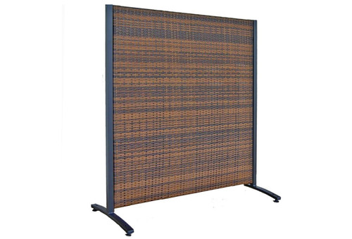 Single Panel Outdoor Wicker Partition