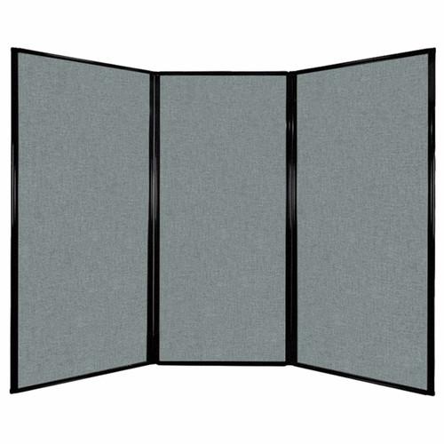 "Privacy Screen 7'6"" x 5'10"" Sea Green Fabric"