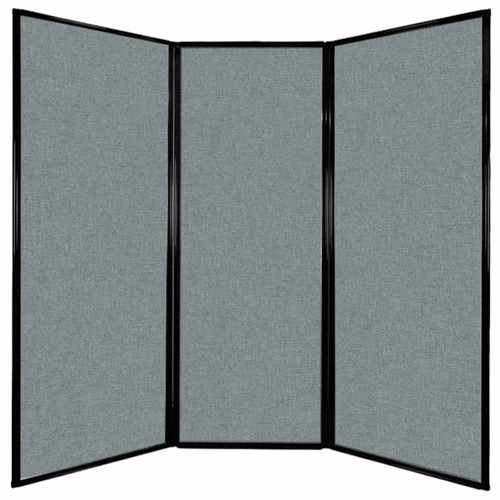 "Privacy Screen 7'6"" x 7'4"" Sea Green Fabric"