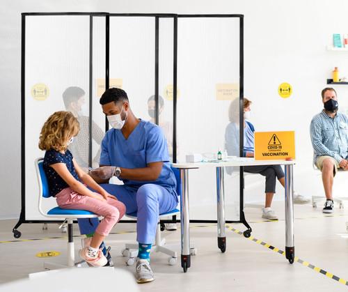 MediWall Sliding Partition