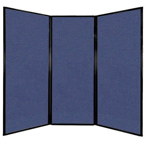 The privacy screen comes in 3 panels, all with the same widths.