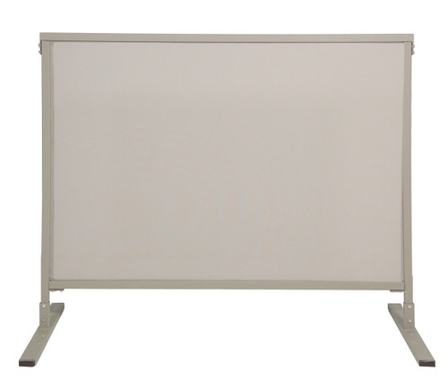Single Panel Outdoor Privacy Screen 4' x 4' Stone Woven Polyester