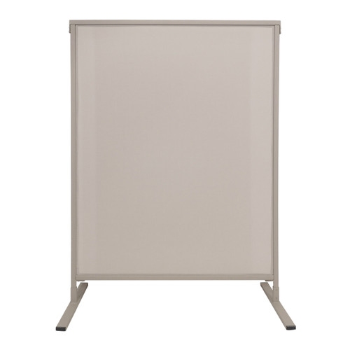 Single Panel Outdoor Privacy Screen 4' x 6' Stone Woven Polyester