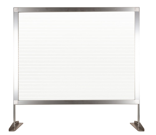 """MediPanel Countertop Screen 34"""" x 32½"""" Clear Fluted Window"""
