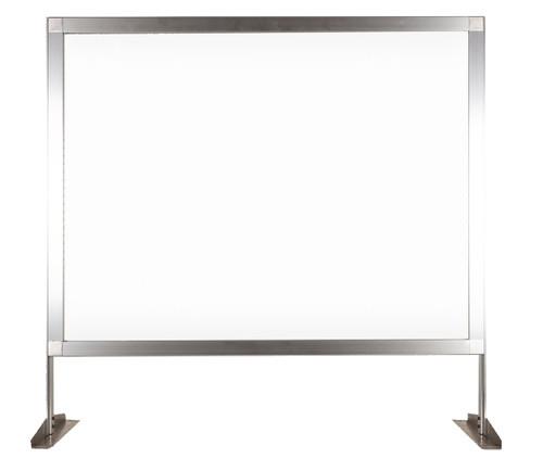 """MediPanel Countertop Screen 34"""" x 32½"""" Clear Window"""