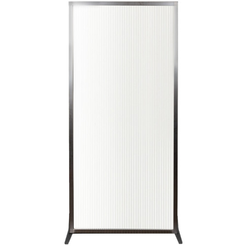 """MediPanel 34"""" x 72"""" Clear Fluted Polycarbonate No"""