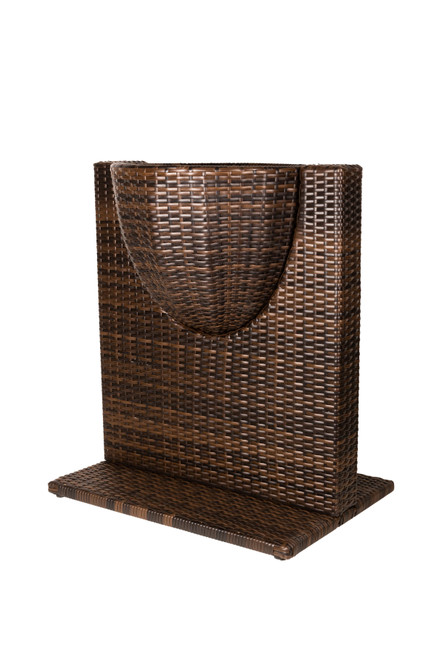Wicker Flower Pot Divider