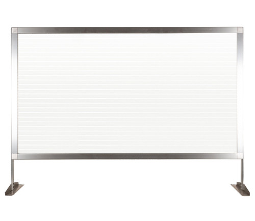 """MediPanel Countertop Screen 46"""" x 32½"""" Clear Fluted Window"""
