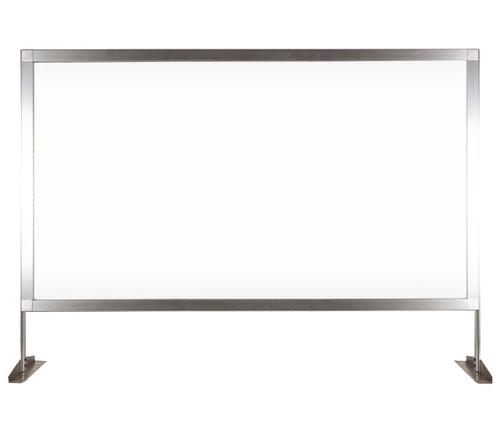 """MediPanel Countertop Screen 46"""" x 32½"""" Clear Window"""