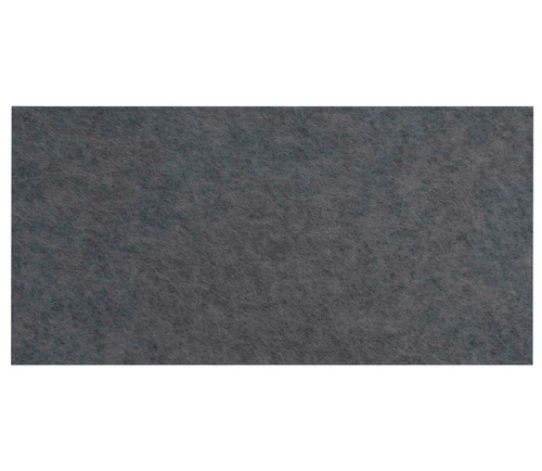 "Wall-Mounted SoundSorb Acoustic Panels 24"" x 12"" Rectangle Dark Gray High Density Polyester"