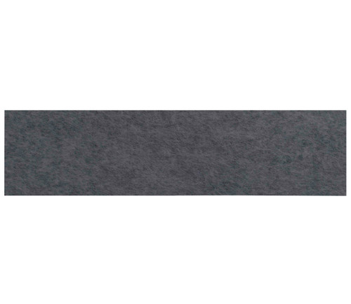 "Wall-Mounted SoundSorb Acoustic Panels 48"" x 12"" Dark Gray High Density Polyester"