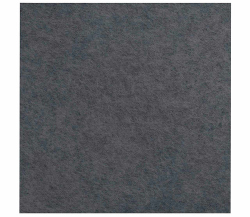 """Wall-Mounted SoundSorb Acoustic Panels 24"""" x 24"""" Dark Gray High Density Polyester"""