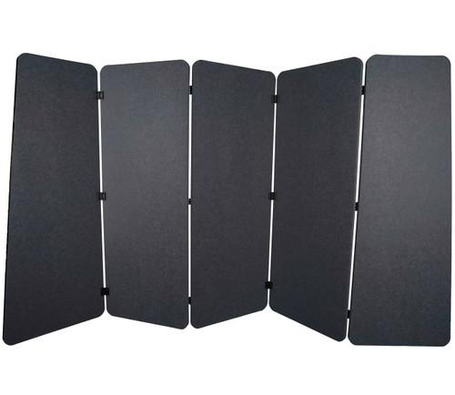 SoundSorb VersiPanel 10' x 5' Dark Gray High Density Polyester