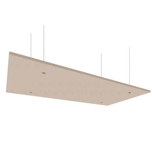 """SoundSorb Acoustic Canopy Panels 24"""" x 48"""" Beige High Density Polyester"""