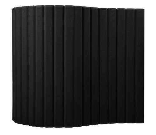 "VersiPanel Acoustical Partition Wall 8' x 6'6"" Black Fabric"