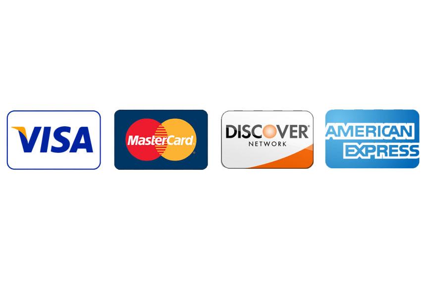 Versare accepts paymenths via credit cards