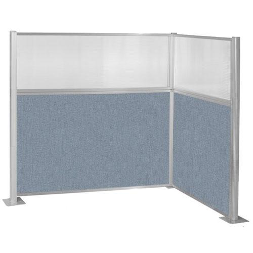 Pre-Configured L-Shape Hush Panel Cubicle