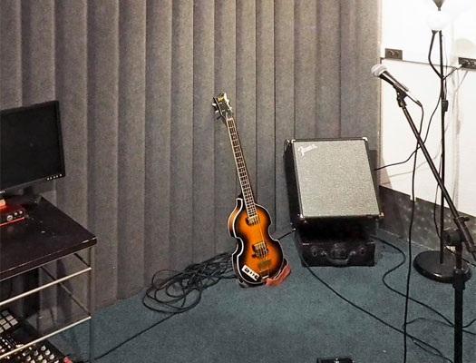 VersiPanel in a studio reducing noise