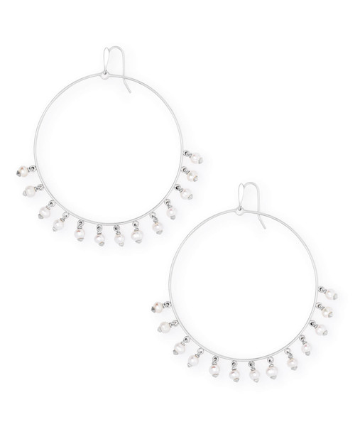 Hilty Bright Silver Hoop