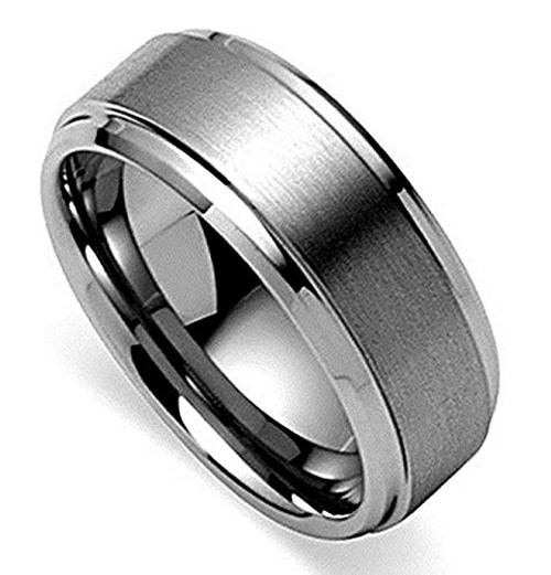 Silver Band Ring for Men