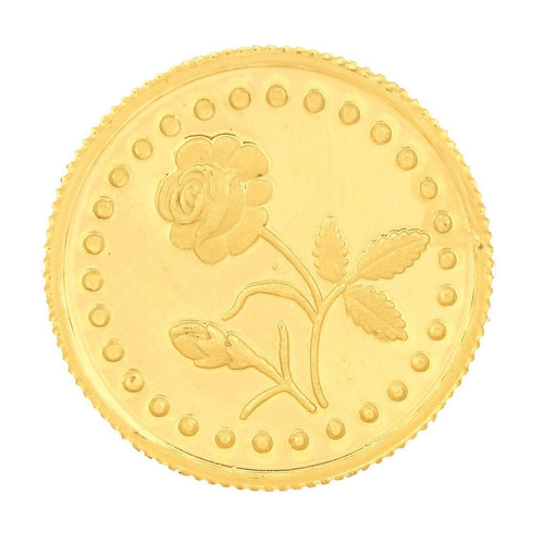 916 Purity 50 Gms Rose Gold Coin MGRS916P50G