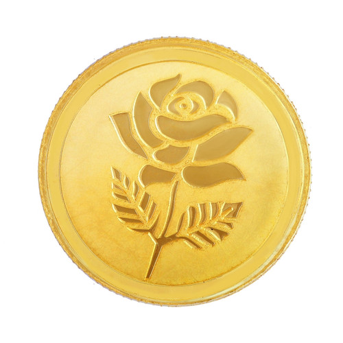 999 Purity 20 Gms Rose Gold Coin MGRS999P20G
